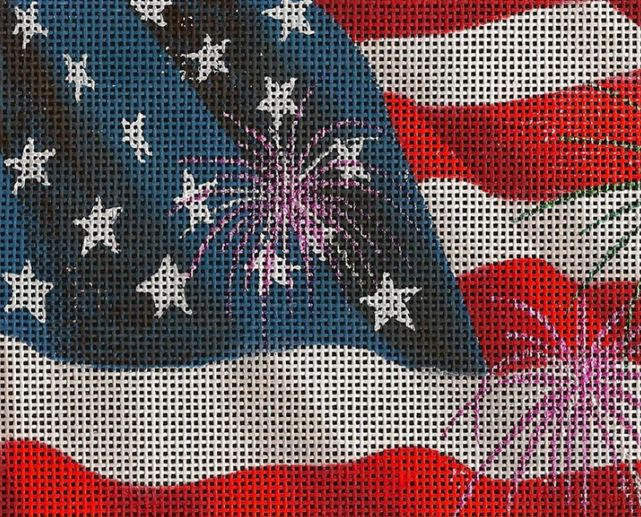 click here to view larger image of Independence Day (hand painted canvases)