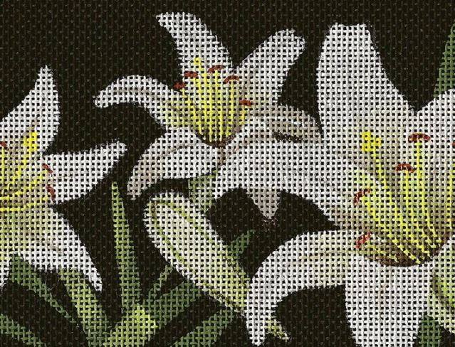 click here to view larger image of Lilies of the Field (hand painted canvases)