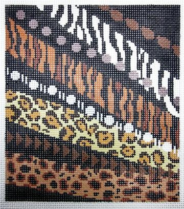 click here to view larger image of Animal Print (hand painted canvases)