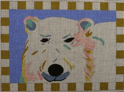 click here to view larger image of Bearly Dressed (hand painted canvases)