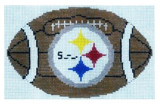 click here to view larger image of Football - Pittsburgh Steelers (hand painted canvases)