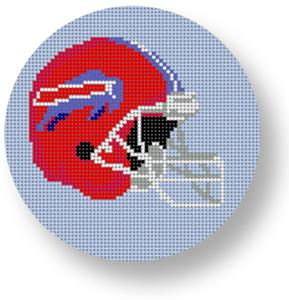 Buffalo Bills Helmet - Football  hand painted canvases