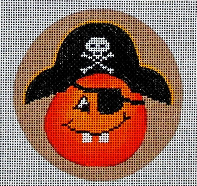 click here to view larger image of Cheeky Pumpkins - Pirate (hand painted canvases)