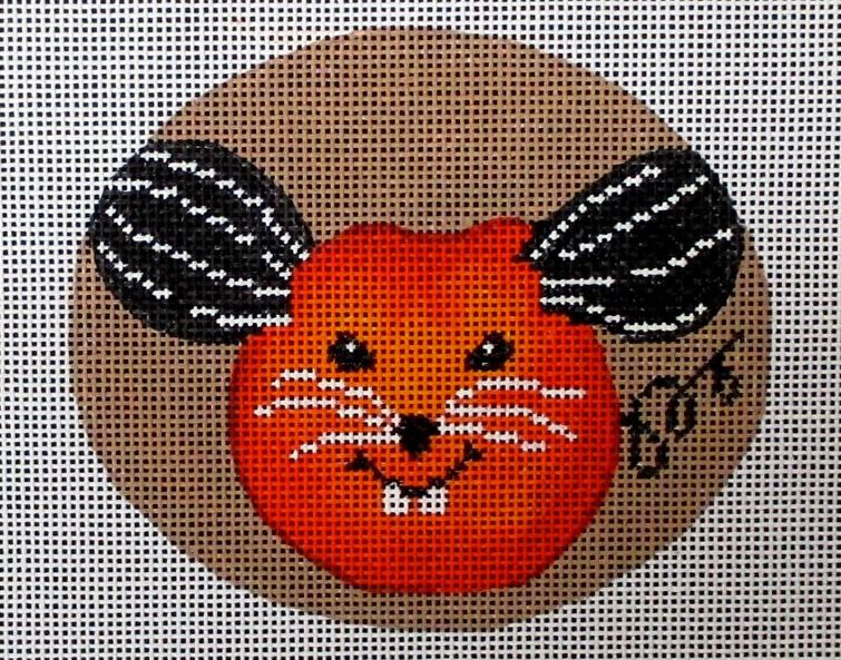 click here to view larger image of Cheeky Pumpkins - Mouse (hand painted canvases)