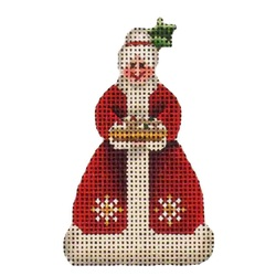 click here to view larger image of Mrs Santa (hand painted canvases)