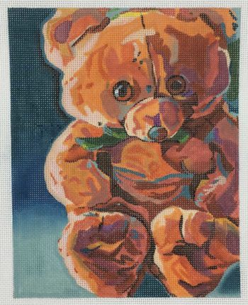 click here to view larger image of Mr Snuggles (hand painted canvases)