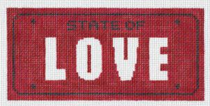 click here to view larger image of State of Love (hand painted canvases)