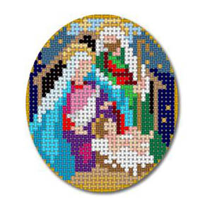 click here to view larger image of Nativity - Holy Family (hand painted canvases)