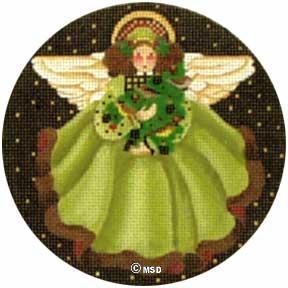 Holly Angel Ornament - click here for more details