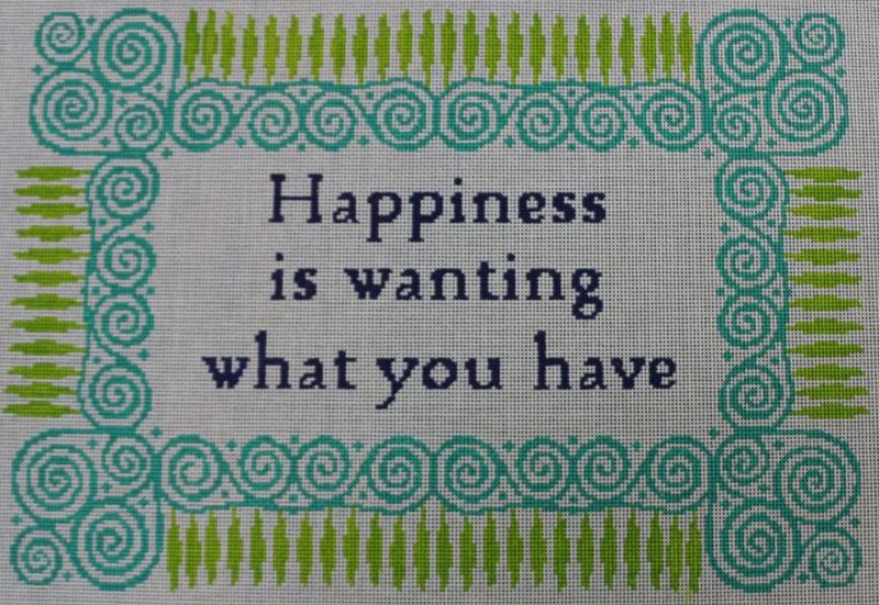 click here to view larger image of Happiness (hand painted canvases)