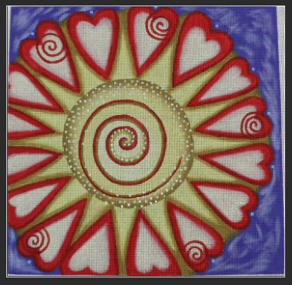 click here to view larger image of Believe in Love (hand painted canvases)