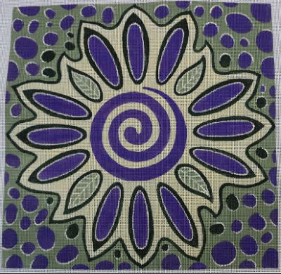 click here to view larger image of Healing Bloom (hand painted canvases)