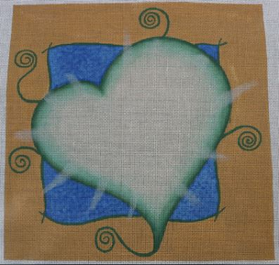 click here to view larger image of Generous Kind Hearts Shine (hand painted canvases)