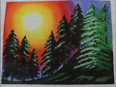 click here to view larger image of Beautiful Day (hand painted canvases)
