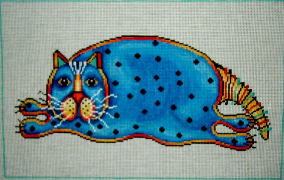 Blue Fat Cat - click here for more details