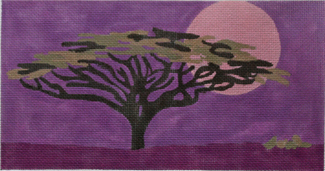click here to view larger image of Moonrise (hand painted canvases)