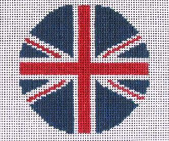 click here to view larger image of British Flag   (hand painted canvases)