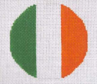 click here to view larger image of Irish Flag   (hand painted canvases)