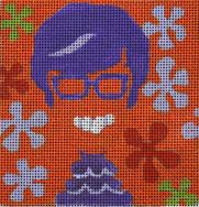 click here to view larger image of Austin Powers - Movie Coaster (hand painted canvases)