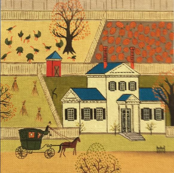 click here to view larger image of Gentlemans Farm (hand painted canvases)