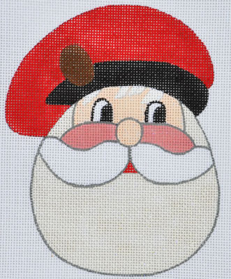 click here to view larger image of Pinecone Santa (hand painted canvases)