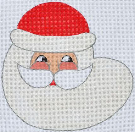 click here to view larger image of North Wind Santa (hand painted canvases)