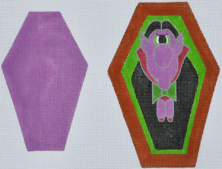 click here to view larger image of Count Me In (hand painted canvases)
