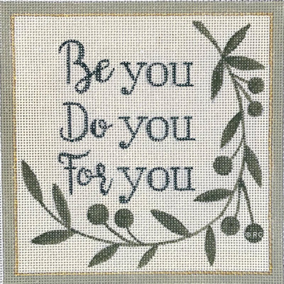 click here to view larger image of Be You Do You For You (hand painted canvases)