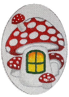 click here to view larger image of Mushroom (hand painted canvases)