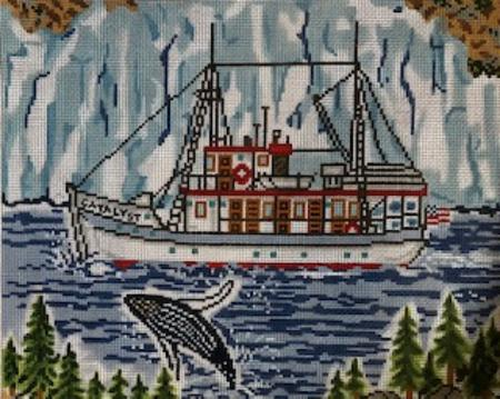click here to view larger image of Alaskan Adventure (hand painted canvases)