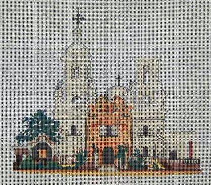 click here to view larger image of Mission San Xavier (hand painted canvases)