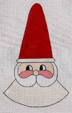 click here to view larger image of Holly Jolly Santa  (hand painted canvases)