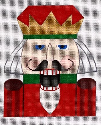 click here to view larger image of Nutcracker Santa  (hand painted canvases)
