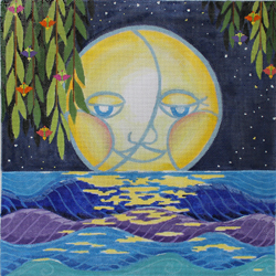 click here to view larger image of Moonlight (hand painted canvases)