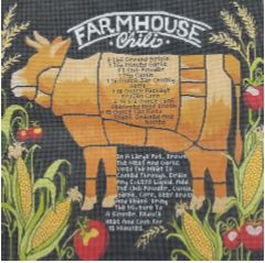 click here to view larger image of Farmhouse Chili (hand painted canvases)