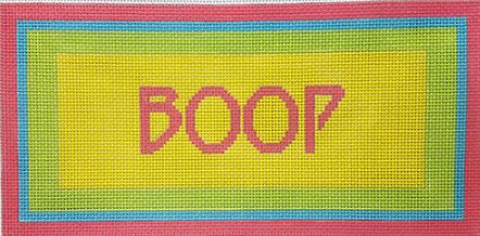 click here to view larger image of Boop (hand painted canvases)