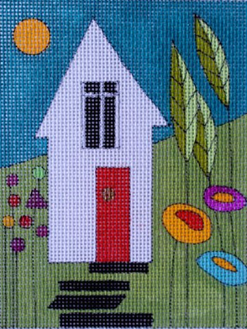 click here to view larger image of Garden House (hand painted canvases)