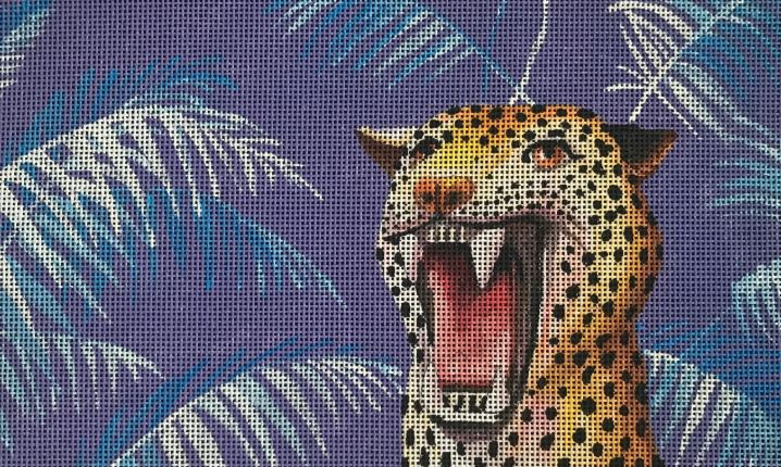 click here to view larger image of Roaring Leopard (hand painted canvases)