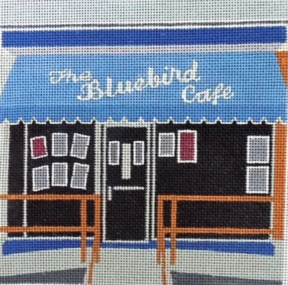 click here to view larger image of Bluebird Cafe, The (hand painted canvases)