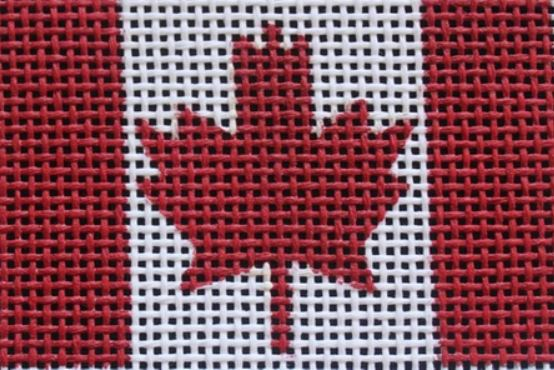 click here to view larger image of Canada Tag (hand painted canvases)