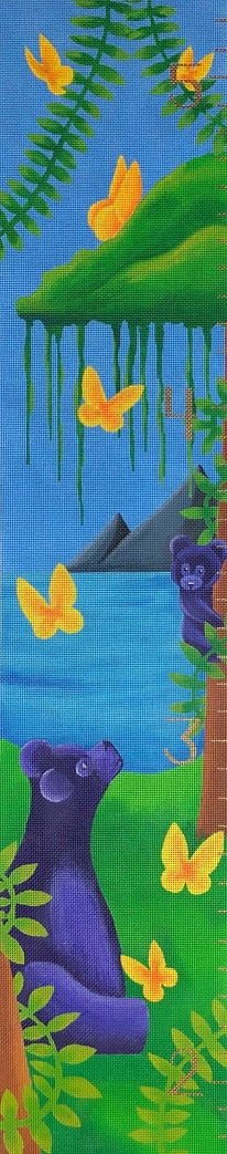 click here to view larger image of Bear Growth Tracker (hand painted canvases)