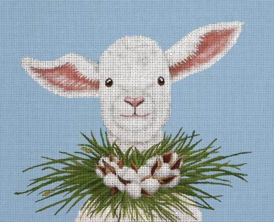click here to view larger image of Elizabeth the Lamb (hand painted canvases)
