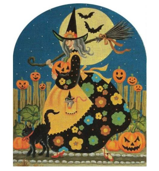 click here to view larger image of Agnus the Witch (hand painted canvases)