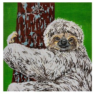 click here to view larger image of Sloth (hand painted canvases)