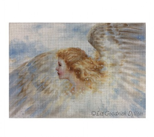 click here to view larger image of Angel (hand painted canvases)