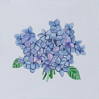 click here to view larger image of Hydrangea Bloom (hand painted canvases)
