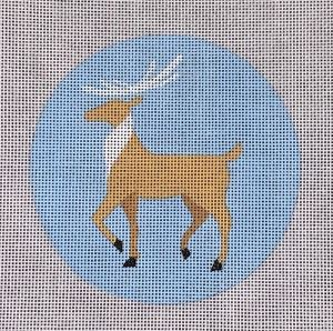 click here to view larger image of Deer (hand painted canvases)