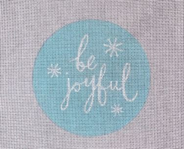 click here to view larger image of Be Joyful (hand painted canvases)