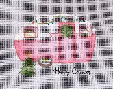 click here to view larger image of Happy Camper (hand painted canvases)