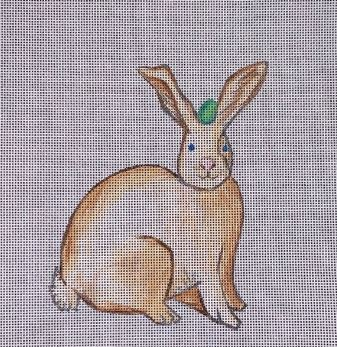 click here to view larger image of Easter Rabbit (hand painted canvases)